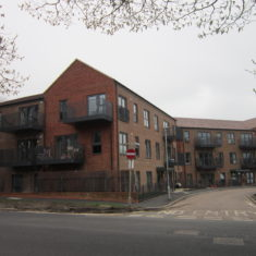 New Flats In Hallowes Crescent - April 2018 | S.Waller