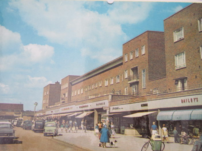 St Andrew's Road before it was closed to traffic c 1960's