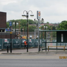 Station Approach during demolition | Susan Waller