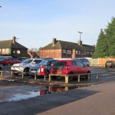 Temporary Car Park in Henbury Way