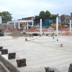 May 2017 Foundations being laid
