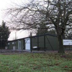 New Scout Hut  - December 2017 - Near Pavilion - Oxhey Playing Fields