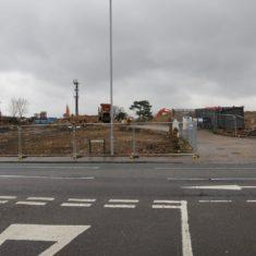 Carpenders Farm following demolition