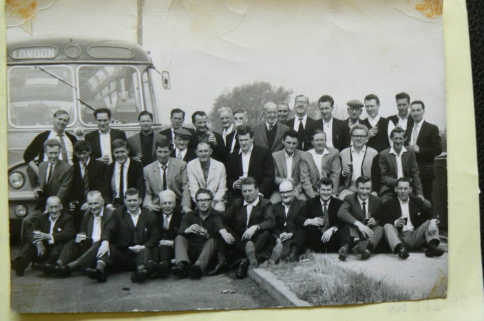 Coach outing 1960's