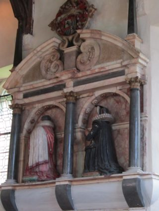 Monument to Sir James ALtham and his wife.