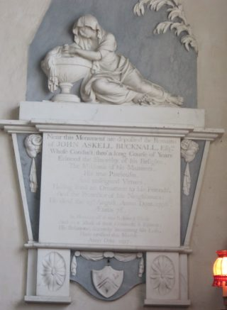 Monument to John Bucknall 1796