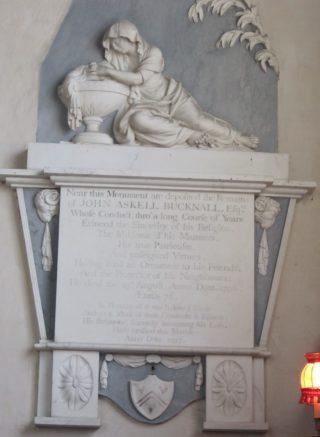 Monument to John Bucknall 1796