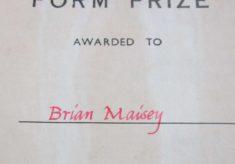 School Prize - Hampden School