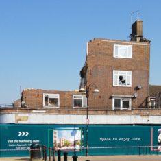 Demolition of shop and flats corner of St Andrews Road and Bridlington Road