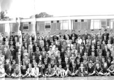 Clarendon School - Whole School  Photograph - 1957