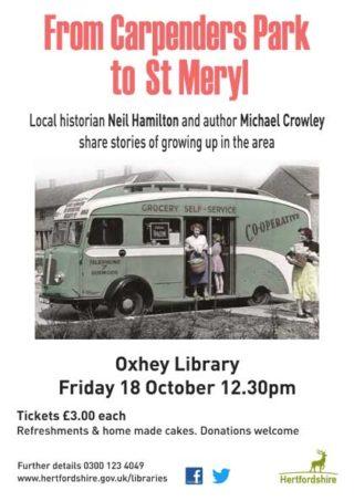 Happy Birthday Oxhey Library