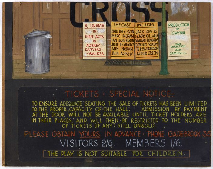 Oxhey Hall Community Association Theatre Group 1950's | Hertfordshire Archives and Local Studies