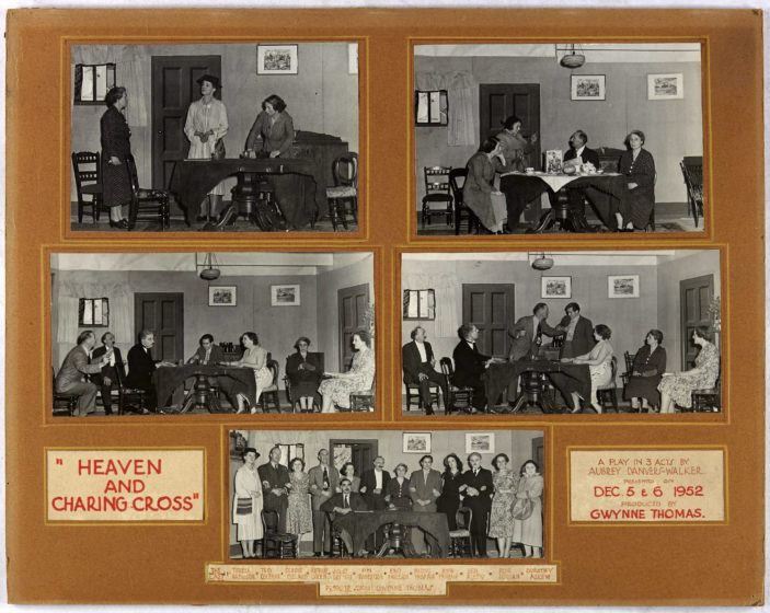 Oxhey Hall Community Association Theatre Group 1950's | HALS