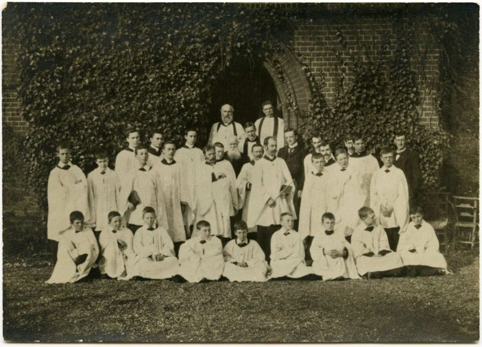 St Matthews Church Choir. No date available | Donated to HALS by Doreen Doe