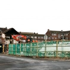 Corner of Oxhey Drive 2nd December 2020
