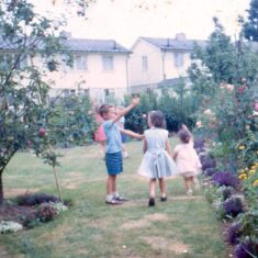 Back Garden at 12 Leven Close