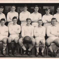 Peter Swain is seated on right hand side. | John Swain Collection.