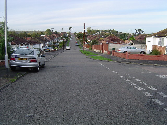 Greenfield Avenue   Copyright Nigel Cox and licensed for reuse under Creative Commons Licence