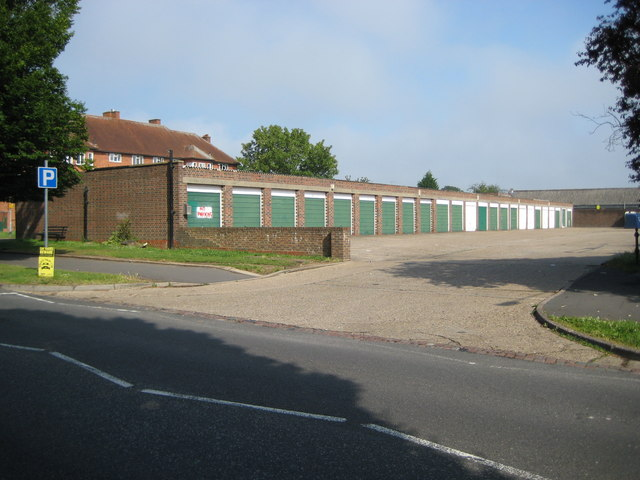 Garage block off Oxhey Drive | © Copyright Nigel Cox and licensed for reuse under this Creative Commons Licence.