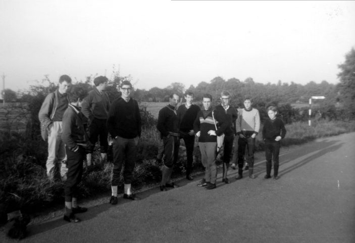 Alan, Bob, Ron on club run | Roy Cherington