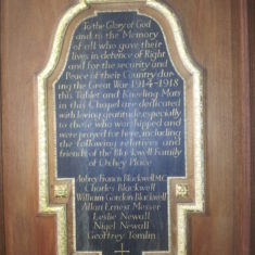 War memorial | Llinos Thomas
