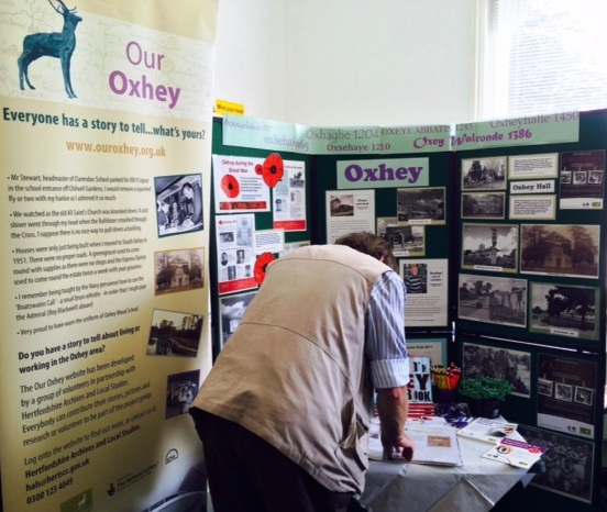 Our Oxhey stall | Beverley Small