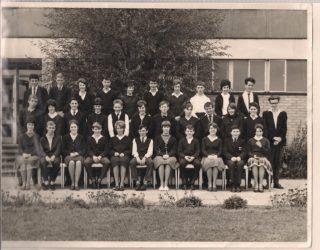 Class 4B Clarendon School - 1964