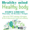 Free health event at Oxhey Library