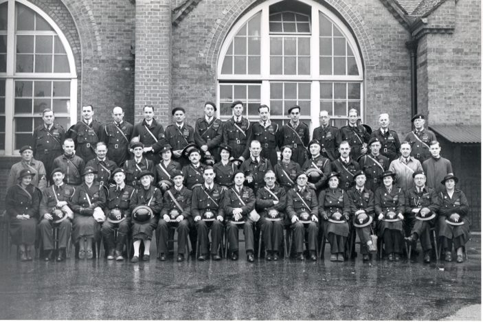 ARP Wardens in Oxhey   Photograph Courtesy of Watford Library