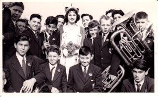 Clarendon School Brass Band 1957/8