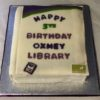 Birthday party for the Library