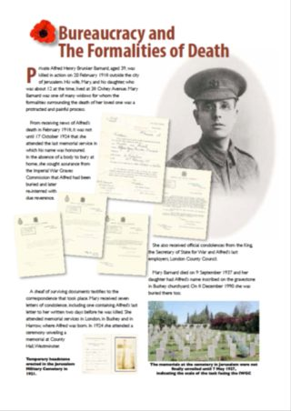 Bureaucracy and the formalities of death | Bushey Museum