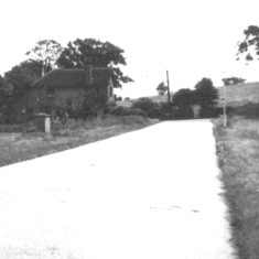 Looking towards 'Five Fields' Style and No1 Carpenders Avenue - From Bungalow No 26 - 1940's | Arthur Hall