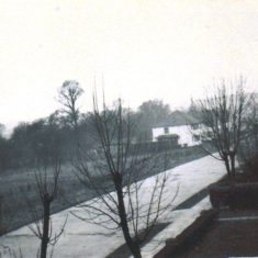 Carpenders Avenue toward No 74 -88 Houses.  Space which became entrance to St Meryl School | Arthur Hall