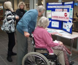 Carers Rights Day display | by Beverley Small