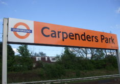 Carpenders Park Station 100 years old