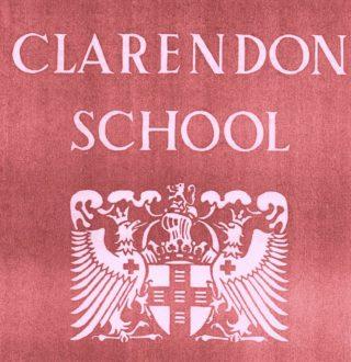 Clarendon School Prospectus Cover | Susan Waller (nee Davidson)