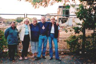 Our Sad Return - Ex Pupils - Carol Banfield - Lynn ? - Mo Dunning (Mills) - Ron Oliver -  Bernadette