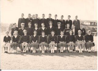 Class 1R Clarendon School - 1960