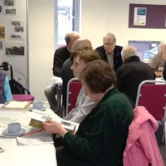 People at the tea party | Hertfordshire Libraries