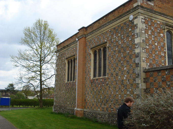 oxhey chapel (side view)