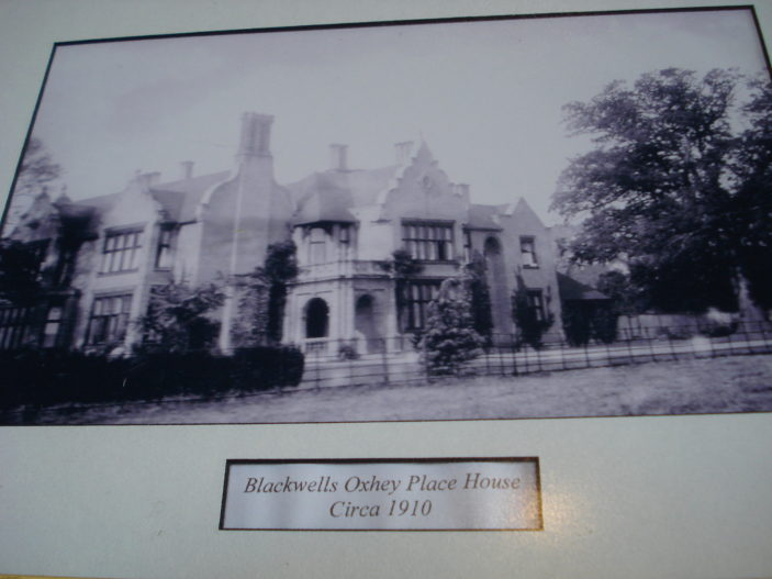 Oxhey place circa 1910 | unknown