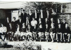 Clarendon School Class Photo