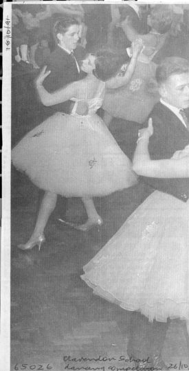 The dancers circle and twirl, with graceful concentration | © Watford Observer 1963