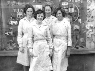 Some of the 'Boots The Chemist' staff  1961 | Susan Waller (nee Davidson)