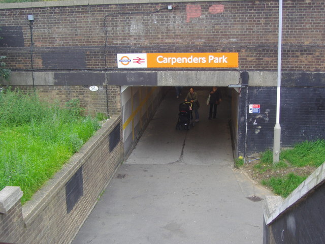 Foot Tunnel entrance | Copyright David Howard and licensed for reuse under Creative Commons Licence