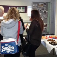 Eating cake at the tea party | Hertfordshire Libraries