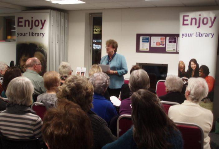 Iris Jones Simantel speaking | by Beverley Small