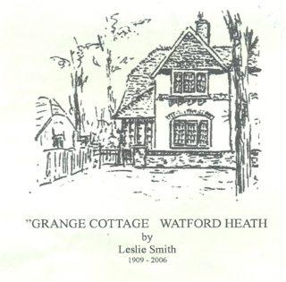 Grange Cottage | Drawn by Leslie Smith 1909 - 2006