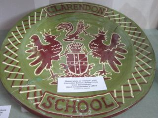 'The Charger' or Large Plate now in 'Three Rivers Museum'